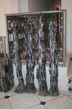 Tour décorative en marbre fossile avec des Orthocères