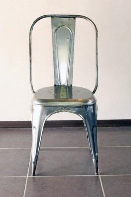 Chaise vintage industrielle usine 1