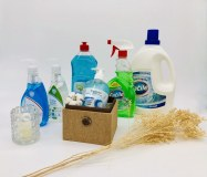 Lessive Liquide, Liquide Vaisselle, Nettoyant Multi-surfaces, Crèmes lavantes mains