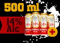 Bière GALAXY 14% canette 500ml