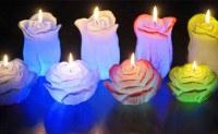 Déstockage de bougies à LED