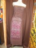 Lot de vêtements indien en soie
