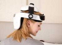 Electric Head Brain Réglable Casque Avec Musique Tête De Massage