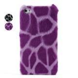 Élégants de qualité Leopard cas couverture rigide pour iPhone 4, 4s