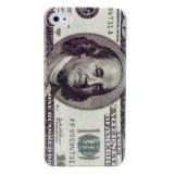 Etui en Polycarbonate, Motif Dollar US, pour iPhone 4/4S