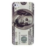 Etui en Polycarbonate, Motif Dollar US, pour iPhone 4/4S
