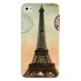 Etui de Protection Rétro en Polycarbonate pour iPhone 4/4S - Tour Eiffel