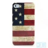 Etui Rigide Motif Drapeau National US pour iPhone 4/4S