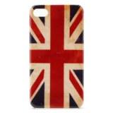 Etui de Protection Motif Drapeau GB pour iPhone 4/4S