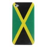 Étui de protection pour iPhone Drapeau de la Jamaïque 4 et 4s