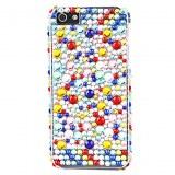 Colorful Case Surface du diamant dur pour l'iPhone 5
