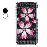 Cas motif fleur dur pour l'iPhone 5