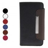 Style de Porte-monnaie en cuir PU cas avec fente pour carte et Hang corde pour iPhone...