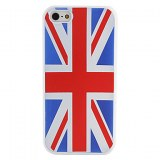 British National Case Modèle Drapeau souple pour iPhone 5