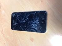 Lot iphone vitre cassé à changer