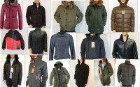 Une variété de vestes d'hiver
