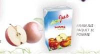 Jus de pomme Frais 100%