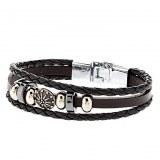 Accessoire élégant bracelet en cuir Combinaison corde