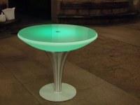 Table ronde à LED 16 couleurs