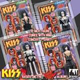 Lot poupées collector groupe KISS style MEGO