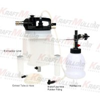 KRAFTMULLER,Kit d'extracteur de liquide de frein pneumatique