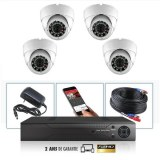 Kit camera videosurveillance hd