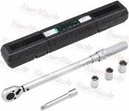 """KRAFTMULLER,Kit clé dynamométrique 1/2 """"avec rallonge et 17, 19, 21 mm"""