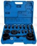 KRAFTMULLER,kit d'Enlèvement de roulement de roue avant 23pcs