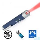 Pointeur laser + récepteur sans fil (édition de contrôle page)
