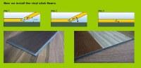 Lame parquet PVC clipsable emboitable gamme pro U4P3