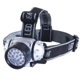 Lampe Torche Frontale 21 x LED Ajustable 4 modes