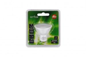 Spot LED GU10 4W 3000K (blanc chaud)