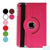 Etui en Cuir Pliable avec Support pour iPad Mini - Rose, rouge