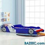 Lit voiture de course pour enfants
