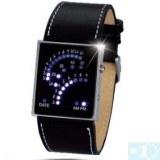Design unique 29 LED numérique binaire montre-bracelet