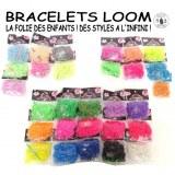 Bracelet elastique loom