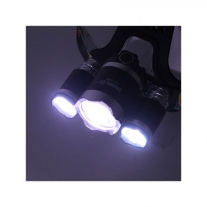 TOP VENTE - LAMPE FRONTALE RECHARGEABLE 3000 LUMENS