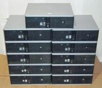Lot de 10 unites centrales HP Compaq DC5750 AMD dual core 2.3ghz 2g 80Go