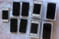LOT IPHONE 4S - IPHONE 5 - SAMSUNG S3 - IPAD
