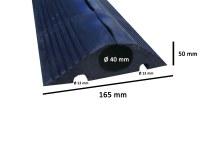Passe-câble protège-câble ralentisseur 6 METRES - 44 TONNES