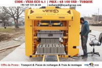 Machine a Parpaing, Pondeuse de Parpaing | Vess Eco 4.1