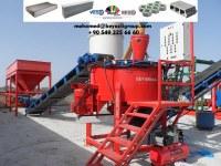 Pondeuse de Brique Parpaing - Prix Machine de Parpaing - Machine de Brique