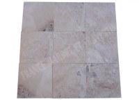 Marbre Marfil Silver Shell 30x30 1 cm Poli EN STOCK