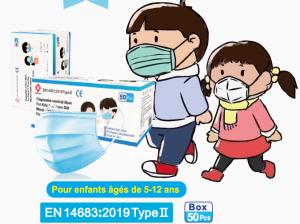 MASQUES MEDICAUX ENFANTS ADULTES ET FFP2