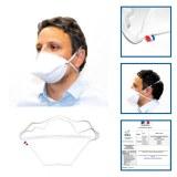 Masque tissu lavable blanc