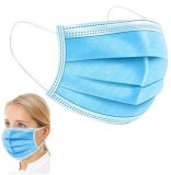 Masques Chirurgicaux Medicaux EN14683 Type IIR Filtration >98% Boite Multi-langues