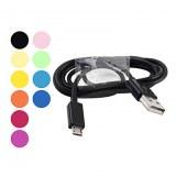 Cable USB vers Micro USB pour Samsung Galaxy S3 i9300 & S2 i9100 - Assortiment de Couleurs
