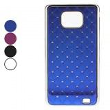 Etui Rigide avec Strass Style Ciel Etoilé pour Samsung Galaxy S2 i9100 - Assortiment de...