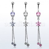 Grossiste Body Piercing Acier Chirurgical Banane Nombril