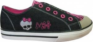 Baskets enfants filles en toile - Licence Monster High